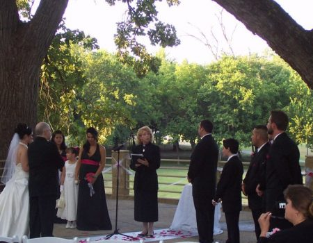 Sacred Ties, Wedding Officiant