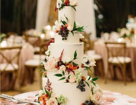 Flourish Cake Design