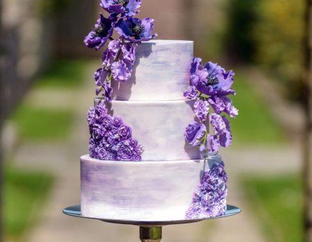 Blue Lace Cakes