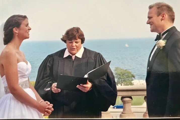 Married by Judge Mary
