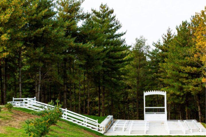 White Pine Lodge at Fort Osage Farm