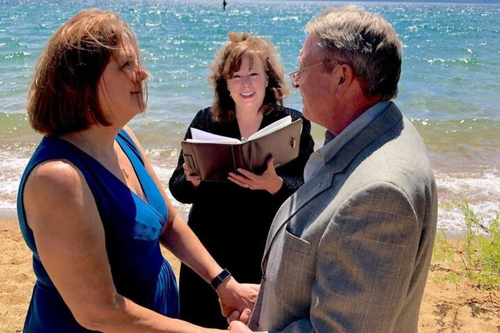 Jackie Phillips, Wedding Officiant