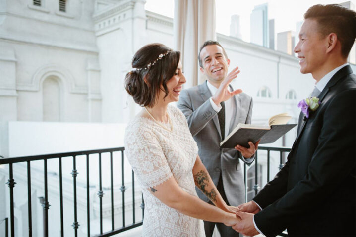 Jacob Marries Wedding Officiant