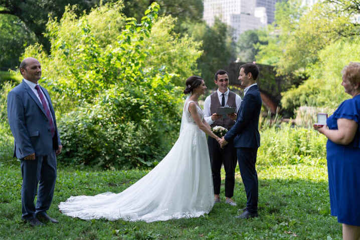 Wedding officiant New York