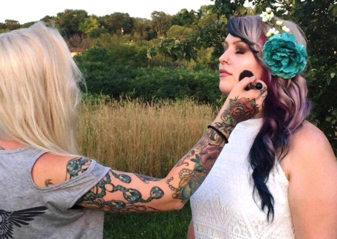 Sarah & Cheyenne Bridal Artistry